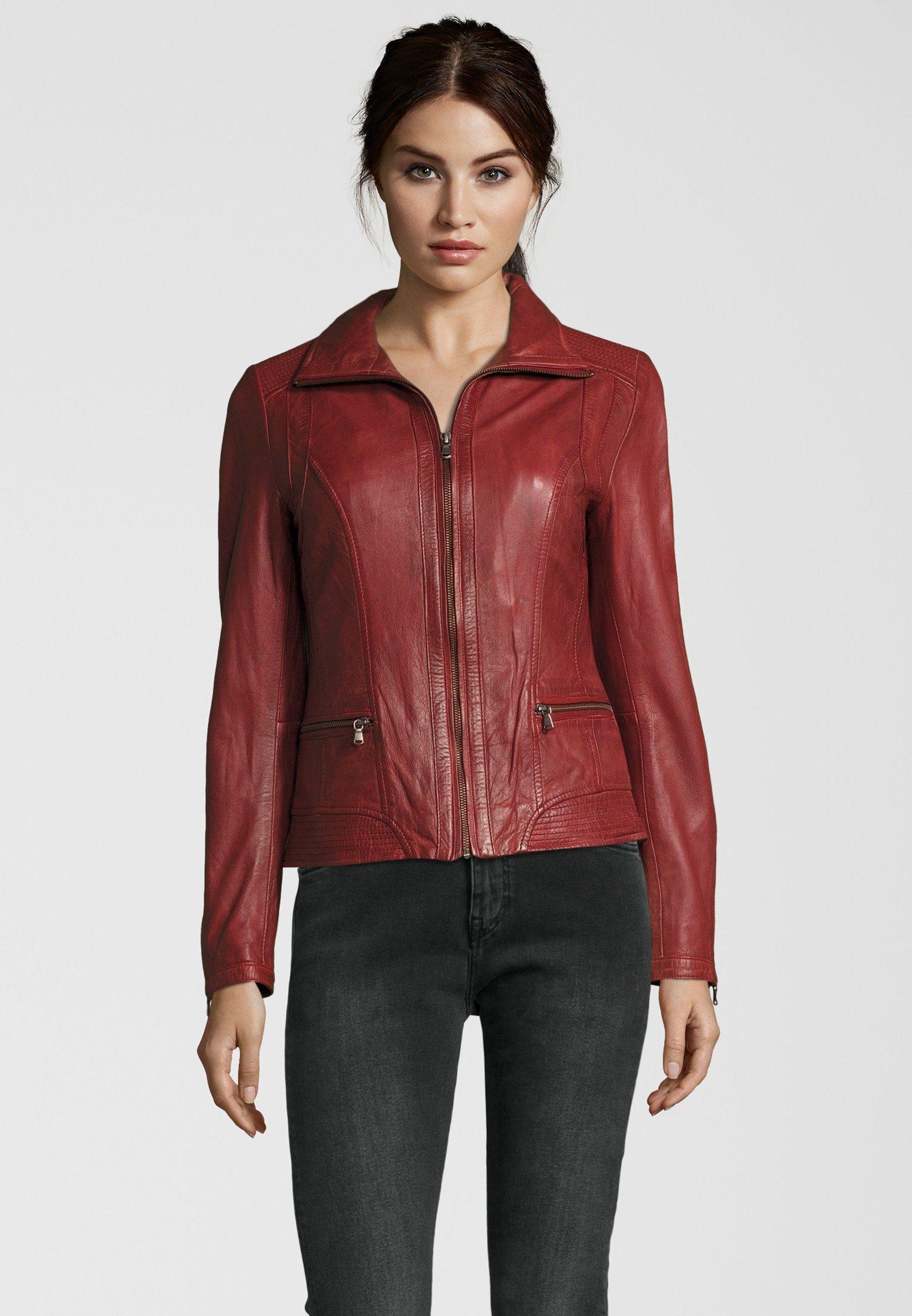 7eleven Lederjacke in modischem Look, Trendige Lederjacke der Marke 7eleven für Damen online kaufen | OTTO