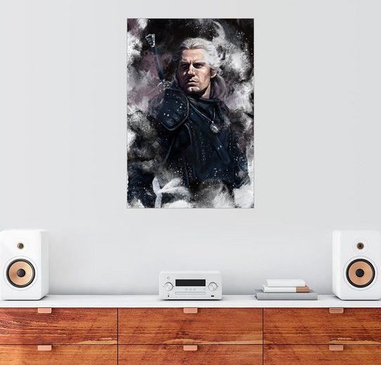 Posterlounge Wandbild, Premium-Poster The Witcher
