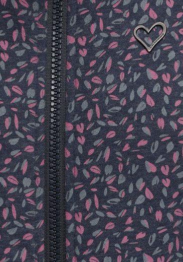 Großer Rabatt alife and kickin Sweatshirt »YasminAK« bedruckter Hoodie mit Kontrast-Details