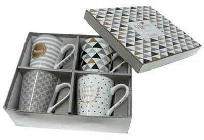 Lashuma Tasse »Home«, Porzellan, Porzellantassen Füllmenge: 300 ml, Kaffeetassen aus Italien