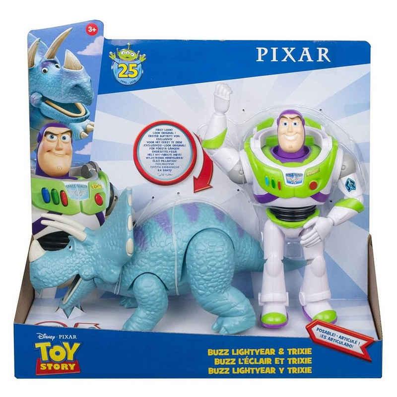 Mattel® Actionfigur »Mattel GJH80 - Disney - Toy Story 4 - Spielset mit 2 Figuren, Buzz Lightyear & Trixie«