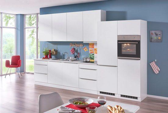 HELD MÖBEL Küchenzeile mit E-Geräten »Cannes«, Breite 360 cm