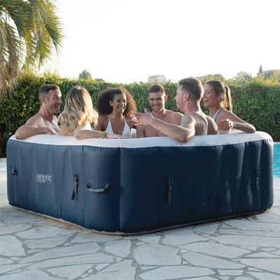 Infinite Spa Whirlpool »SPA CHAMPION 6P«, BxLxH: 184x184x65 cm, 910 l, bis zu 6 Personen