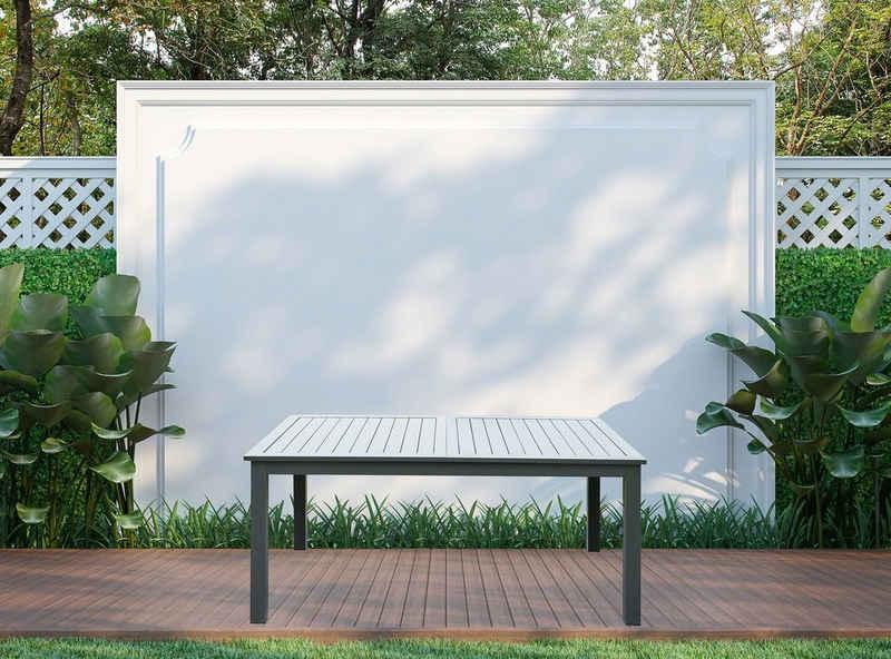 HOME DELUXE Gartentisch »Casa«, ca. 160(240) x100x74 cm - inkl. Zubehör, ausziehbar
