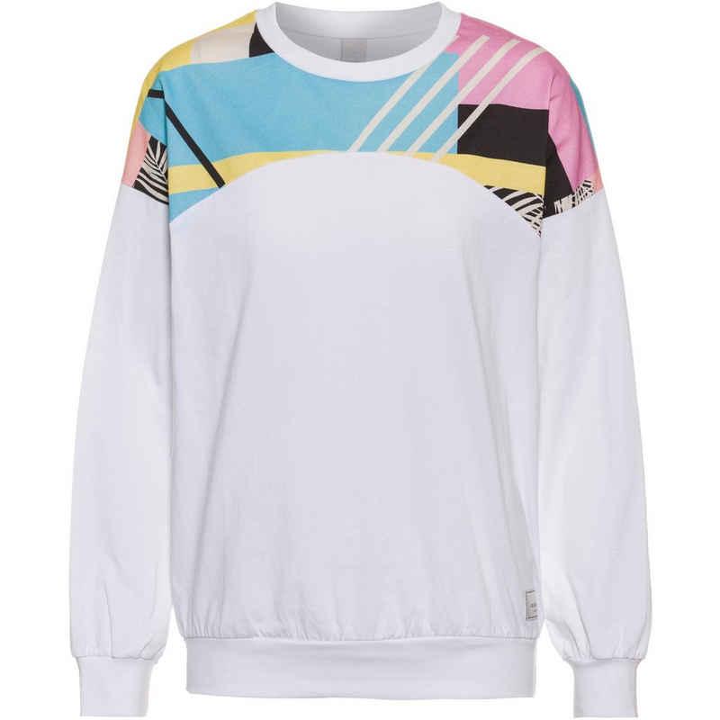 iriedaily Sweatshirt »Funky Block« Fair Wear Foundation,Nachhaltige Baumwolle,Vegan