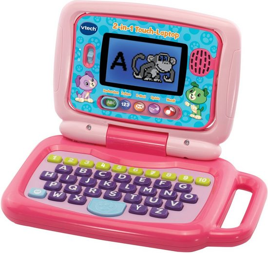 Vtech® Kindercomputer »2in1 Touch-Laptop, pink«