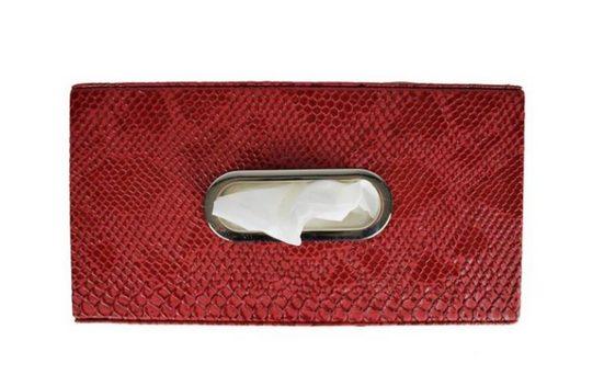 Signature Home Collection Papiertuchbox »Papiertuchbox Kroko Kunstleder für Taschentücher«