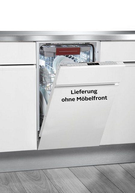 Küchengroßgeräte - NEFF vollintegrierbarer Geschirrspüler N 70, S857ZMX09E, 10 Maßgedecke  - Onlineshop OTTO