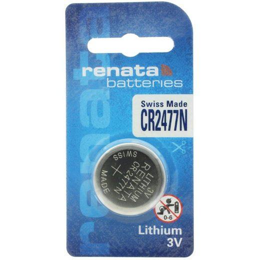 Renata »Renata CR2477N Lithium Batterie mit 950mAh« Batterie