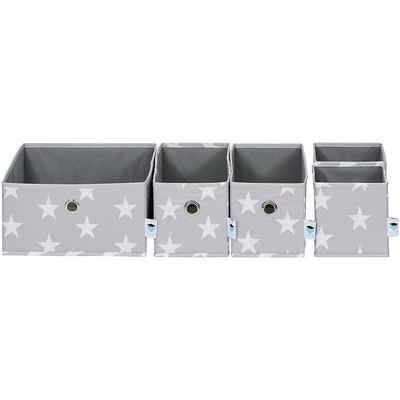 STORE IT! Aufbewahrungsbox »Aufbewahrungsorganizer Set, 5 tlg., Sterne«