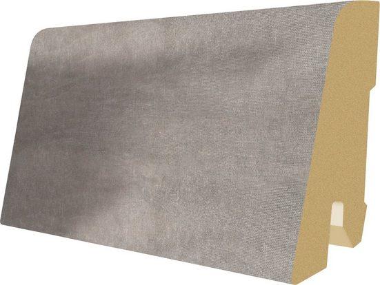 EGGER Sockelleiste »L470 - Cefalu Beton hell«, L: 240 cm, H: 6 cm