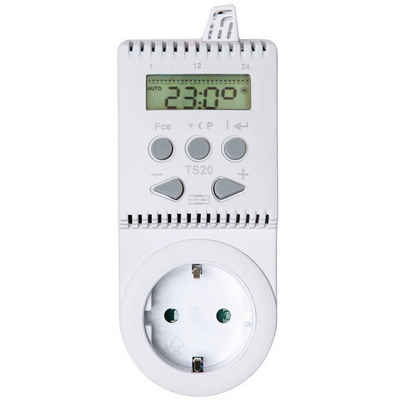 tectake Heizkörperthermostat »Thermostat für Steckdose TS20«