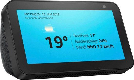 Echo Echo Show 5 Bluetooth-Lautsprecher (Bluetooth, WLAN (WiFi), 8 W)