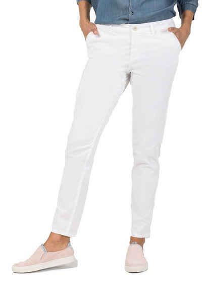 TIMEZONE Stoffhose »TIMEZONE Regular Mirali Hose dezente Damen Stoff-Hose mit seitlichen Eingrifftaschen Casual-Pants Weiß«