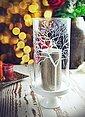 Sendez Windlicht »Windlicht Glaszylinder mit Porzellanteller Kerzenhalter Tischdeko Kerzenständer Laterne«, Bild 7