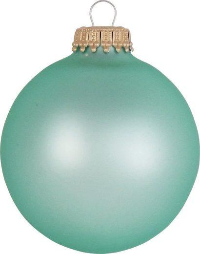 Krebs Glas Lauscha Weihnachtsbaumkugel »CBK60010« (8 Stück)
