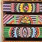 Casa Moro Schmuckkasten »Mini-Kommode Indica 19,5x12x29 cm cm (B/T/H) aus Echtholz mit 5 bunten Schubladen, Handbemaltes Holz-Kästchen afrikanischer Stil, RK105«, Handmade, Bild 5
