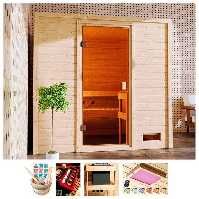 Saunen und Zubehör - KARIBU Sauna »Ricky«, 195x169x187 cm, ohne Ofen  - Onlineshop OTTO