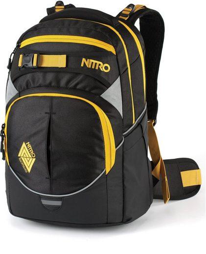 NITRO Schulrucksack »Superhero Golden Black«