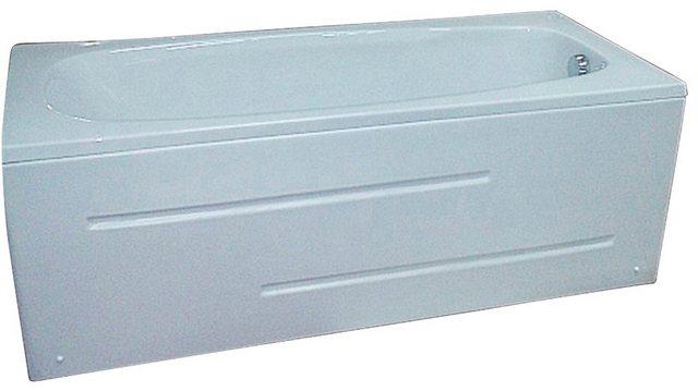 Badewannen und Whirlpools - Sanotechnik Badewanne »Marbella«, (4 tlg), 181 80 weiss, inkl Frontschürze  - Onlineshop OTTO