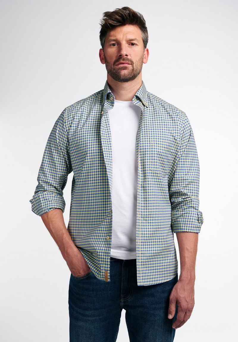 Eterna Businesshemd »REGULAR FIT« Oxford-Langarmhemd