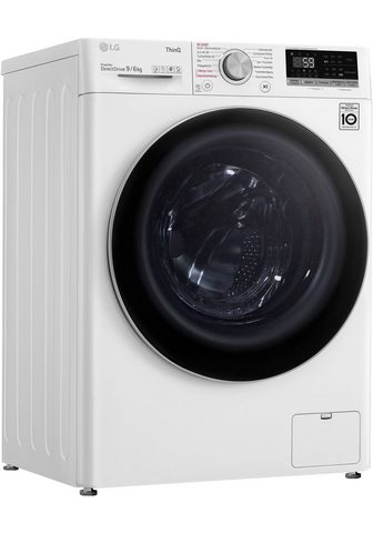 LG Skalbimo mašina-džiovyklė V5WD96H1 9 k...