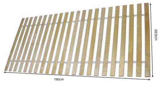 Rollrost, Clamaro, Rollrost Lattenrost Bettrost 12mm gerade stabile Multiplex Latten von CLAMARO NEU