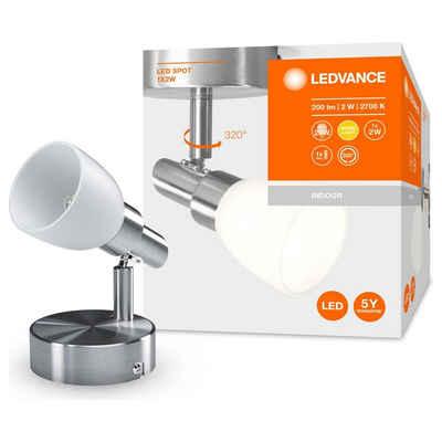 Ledvance LED Deckenstrahler »LED Wand- und Deckenspot G9 1x 1,9W 200lm«, Deckenstrahler, Deckenspot, Aufbaustrahler