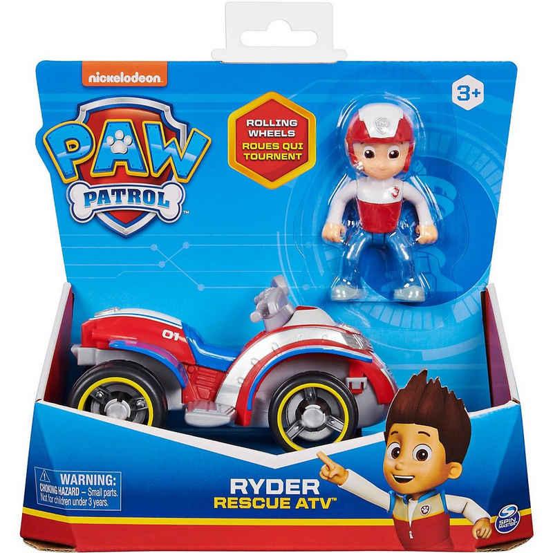 Spin Master Spielfigur »PAW Patrol - Ryders Rettungs-Quad mit Sammelfigur«