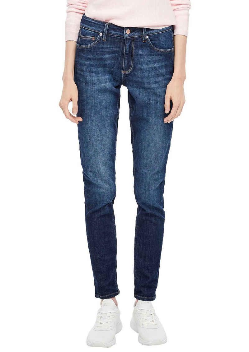 Q/S by s.Oliver Skinny-fit-Jeans »Sadie« aus hochwertigem Bi-Stretch-Denim