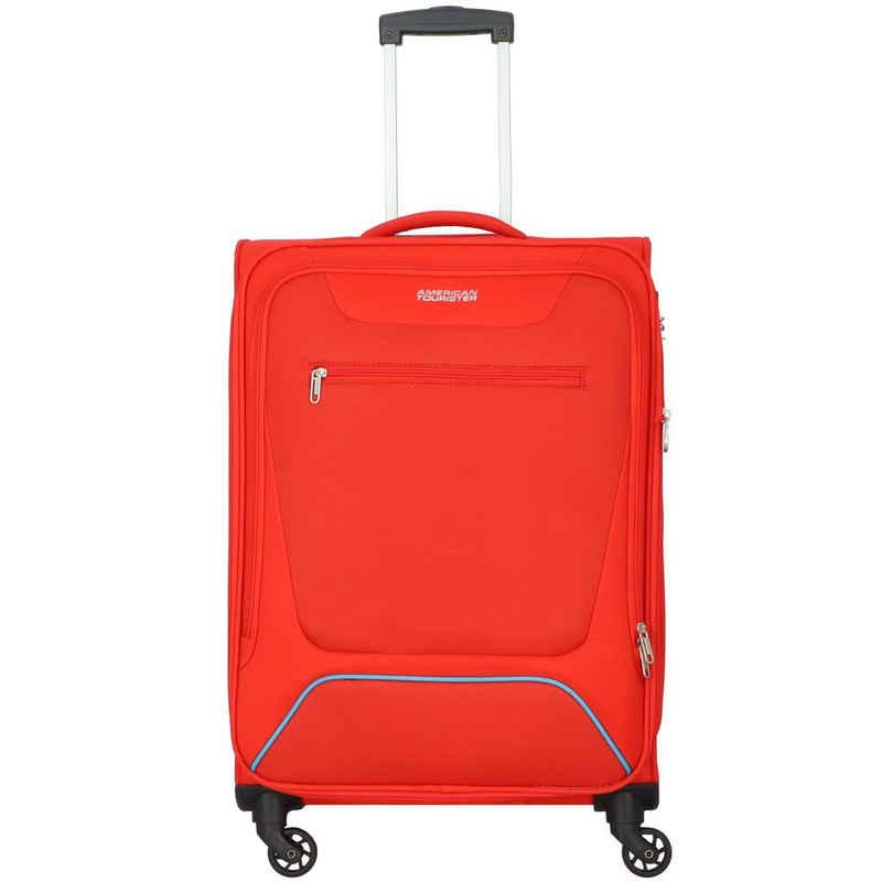 American Tourister® Business-Trolley »Hyperbreez«, 4 Rollen, Polyester