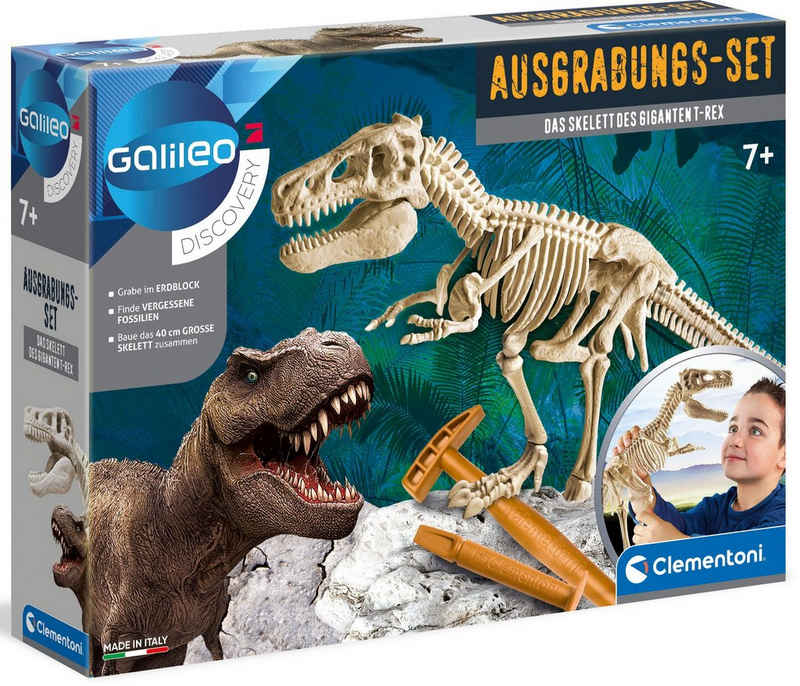 Clementoni® Experimentierkasten »Galileo T-Rex«, Made in Europe