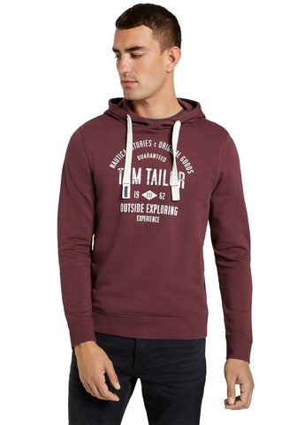 TOM TAILOR Sportinis megztinis su gobtuvu su groß...