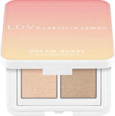 L.O.V Highlighter-Palette »L.O.V x LAETITIA LEMAK DREAM GLAZE Highlighting Duo«
