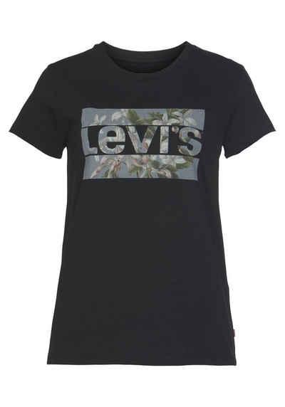 Levi's® Rundhalsshirt »THE PERFECT TEE« mit Sports-Flower-Print