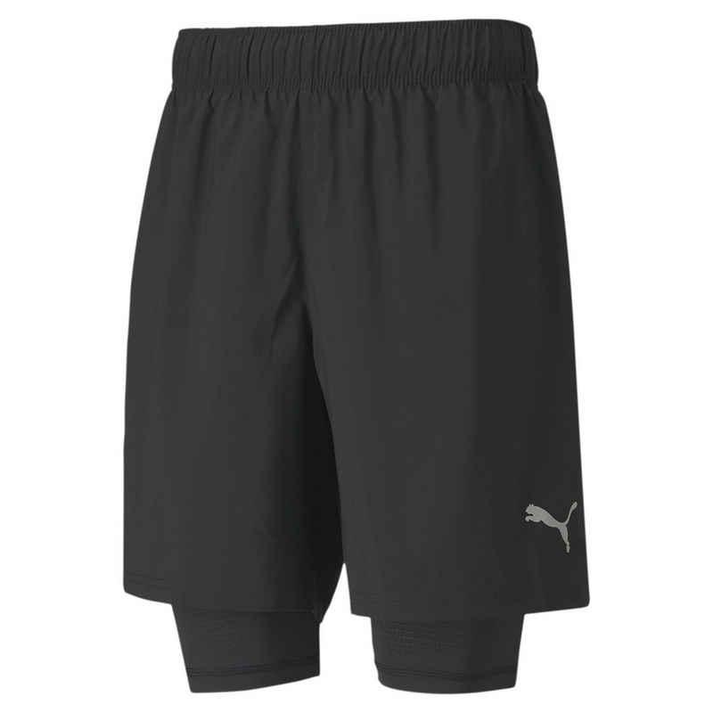 PUMA Shorts »Last Lap 2-in-1 Herren Running Shorts«