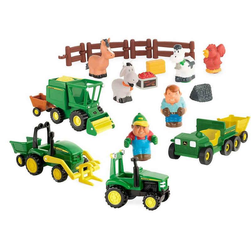 Tomy® Spielzeug-Auto »John Deere Spielset, Riesen Spaß auf dem Bauernhof«