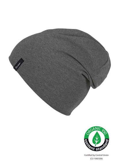 Sterntaler® Beanie »OCS Slouch-Beanie« (1-St) aus Organic Cotton; mit und ohne Umschlag tragbar
