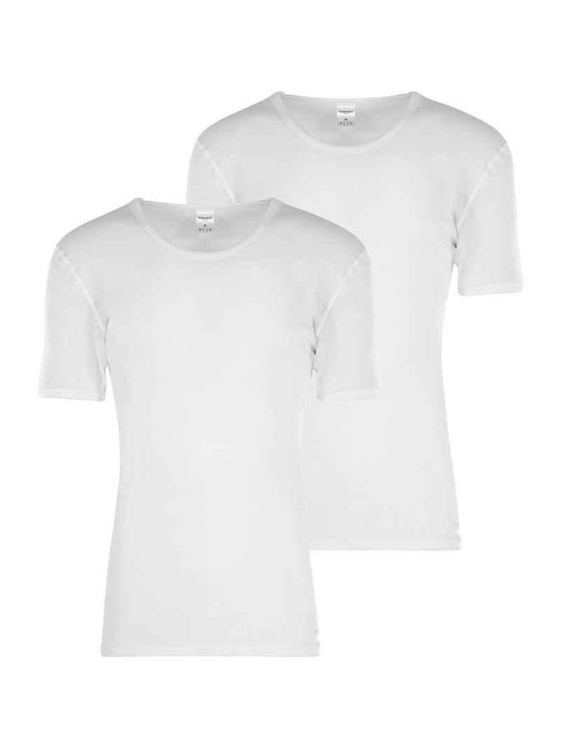 Schiesser Unterhemd »2-Pack Kurzarm Feinripp«