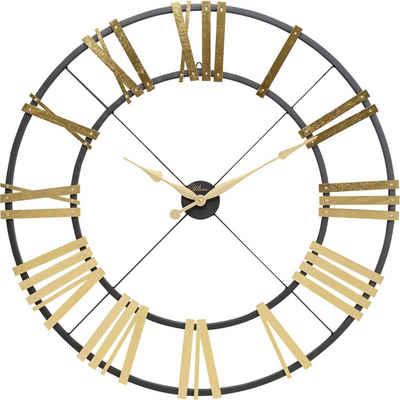 KARE Uhr »Wanduhr Nevio Brass 95cm«