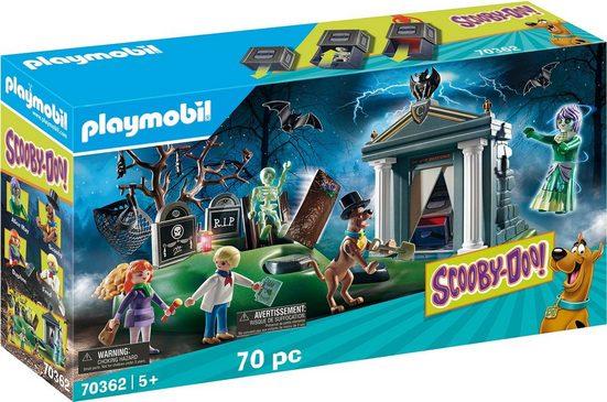 Playmobil® Konstruktions-Spielset »SCOOBY-DOO! Abenteuer auf dem Friedhof (70362), SCOOBY-DOO!«, ; Made in Germany