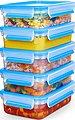Emsa Frischhaltedose »Emsa Clip & Close«, Kunststoff, (Set, 10-tlg., 5 Vorratsdosen mit jeweils einem Deckel), 100% dicht, Made in Germany, Bild 2