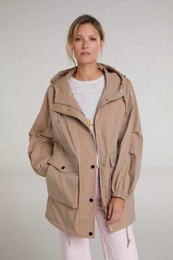 Oui Outdoorjacke »Parka im Oversize-Fit«