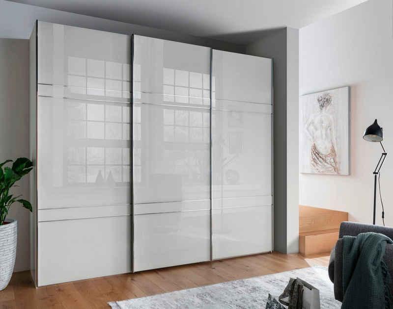 WIEMANN Schwebetürenschrank »Rialto« hochwertige Glasfront mit Querriegeln