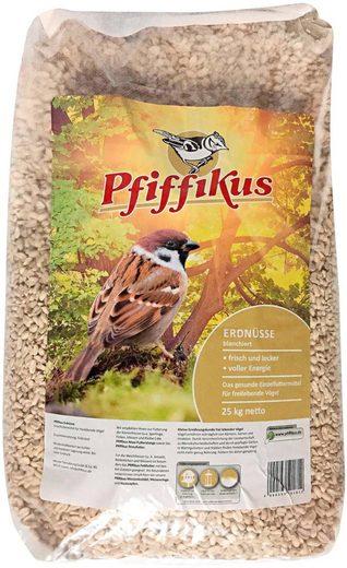 Pfiffikus Vogelfutter »Erdnüsse«, blanchiert, 25 kg