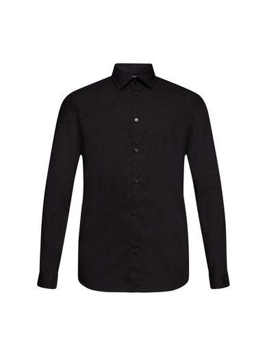 Esprit Collection Businesshemd »Hemd mit mechanischem Stretch, 100% Baumwolle«