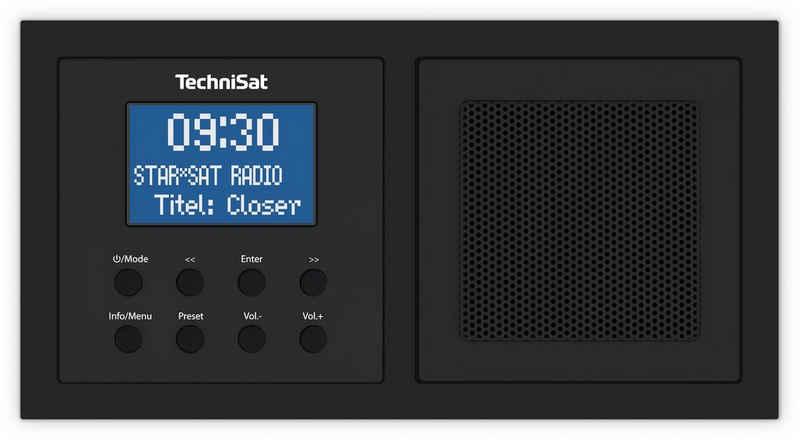 TechniSat »DIGITRADIO UP 1« Digitalradio (DAB) (Digitalradio (DAB), UKW, 2,00 W, Bluetooth-Audiostreaming (Empfang), Weck- und Sleeptimer, Einstellbarer Equalizer, DAB+ Digitalradio)