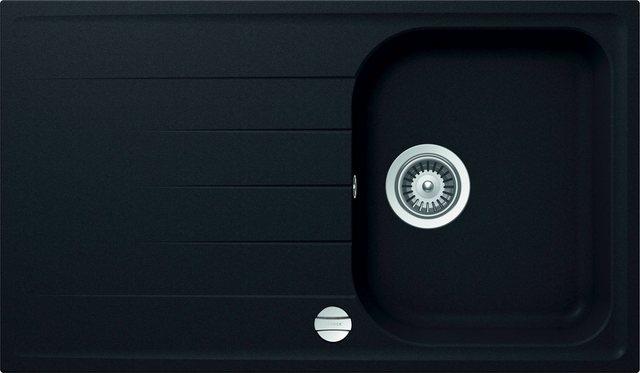 RESPEKTA Einbauspüle »ORLANDO86X50B«| 86x50 cm| 1 Becken | Küche und Esszimmer > Spülen > Einbauspülen | Respekta