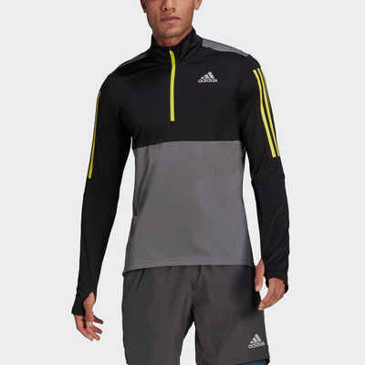 adidas Performance Laufshirt »OWN THE RUN RUNNING 1/2 ZIP«