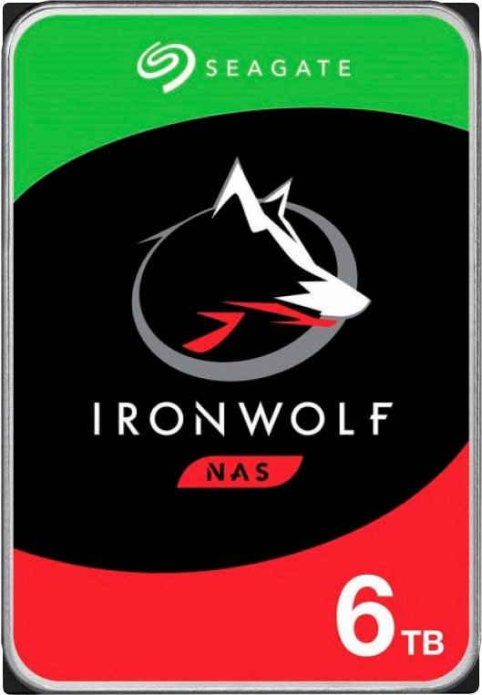 Seagate »IronWolf 6TB« HDD-NAS-Festplatte (6 TB) 3,5)